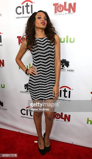 Sal Stowers attending the Celebration Launch of the April 29th online debut of 'All My Children' and 'One Life To Live' on the TOLN Online Network...