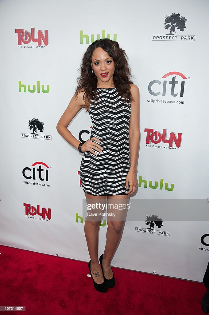 Sal Stowers attends the 'All My Children' & 'One Life To Live' premiere at Jack H. Skirball Center for the Performing Arts on April 23, 2013 in New York City.