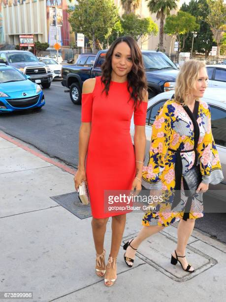 Sal Stowers is seen on April 26 2017 in Los Angeles California