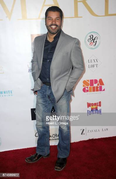 Sal Velez Jr attends Amare Magazine Presents A Black Tie Event featuring cover model Mike O'Hearn held at Hangar 21 on November 14 2017 in Fullerton...