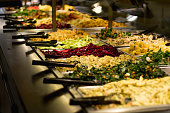 Salad Bar containing vegetables too