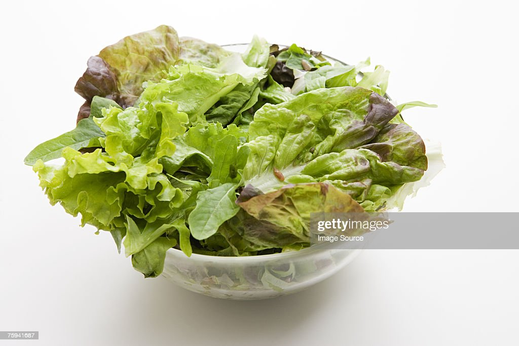Salad in a bowl : Stock Photo