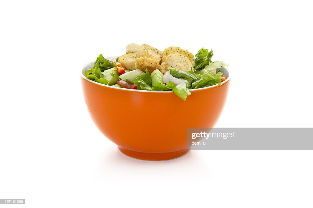 Salad in bowl : Stock Photo