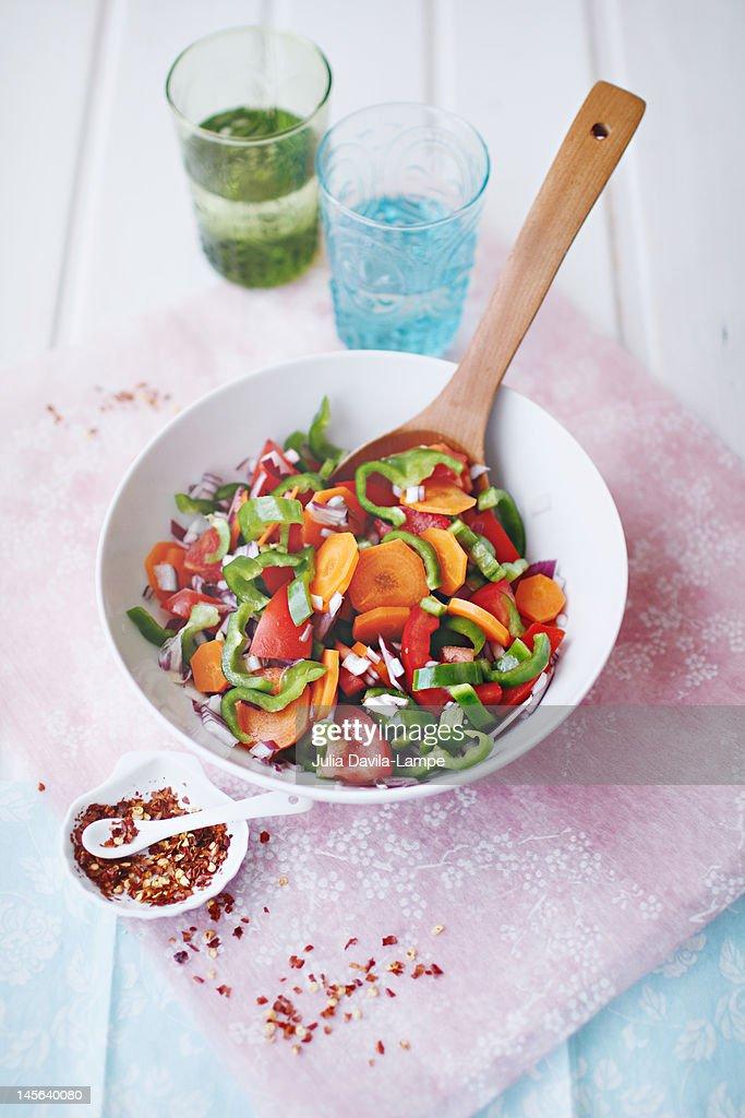 Salad : Stock Photo
