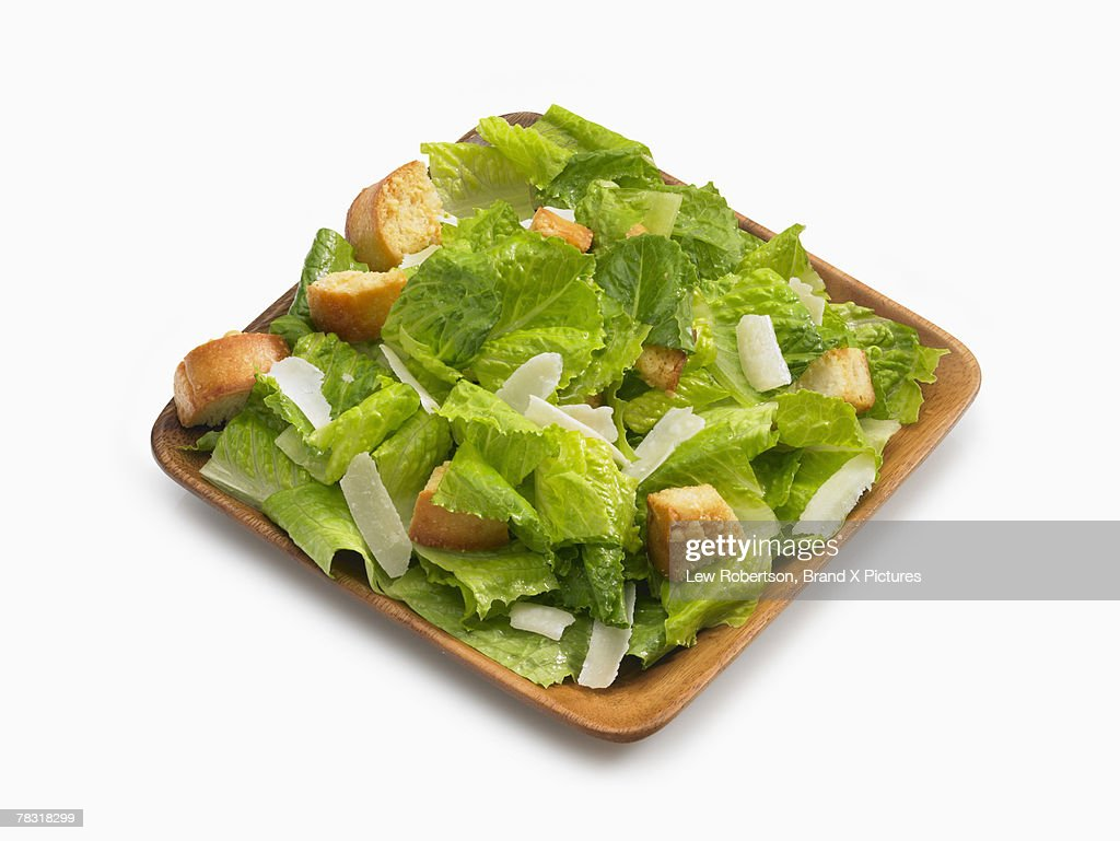 Salad with croutons : Stock Photo
