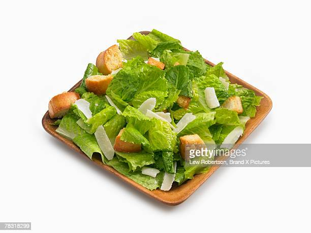 Salad with croutons