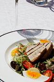 Salade nicoise, Souillac