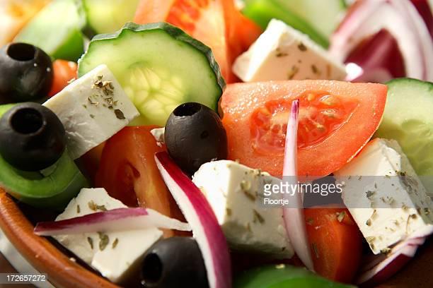 Salads: Greek Salad Still Life