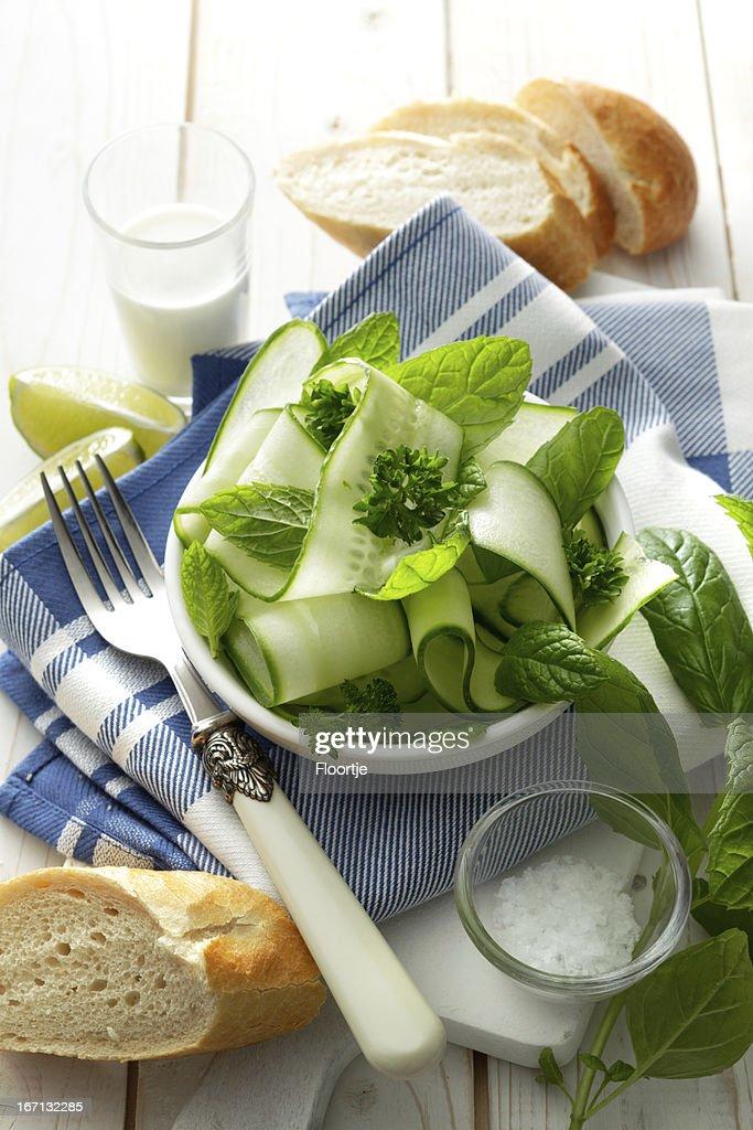 Salads: : Stock Photo
