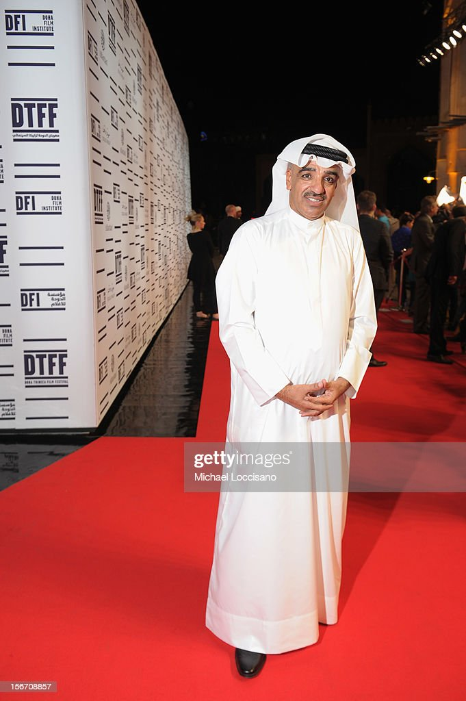 Salah Al Mulla attends the 'Silver Linings Playbook' premiere at the Al Mirqab Hotel during the 2012 Doha Tribeca Film Festival on November 19, 2012 in Doha, Qatar.