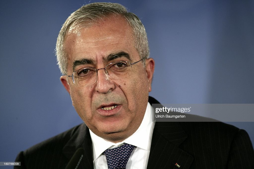 Salam FAYYAD, Prime Minister of the Palestinian National Authority.