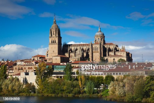 Salamanca Cathedrals and town