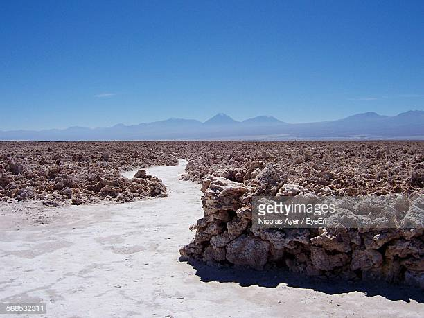 Salar De Atacama Against Blue Sky