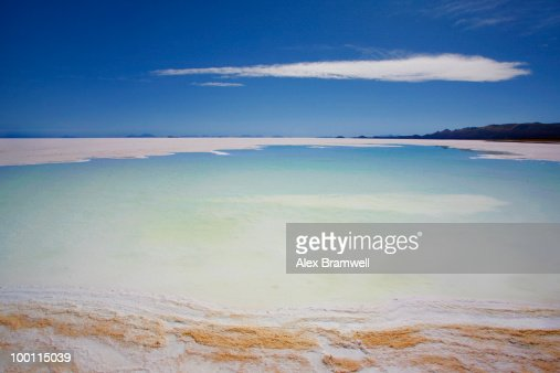 Salar de Uyuni in Bolivia : Stock Photo