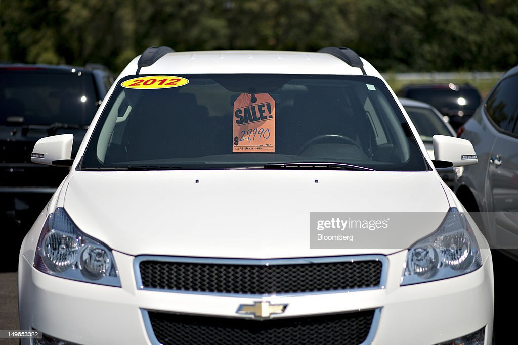 Views From An Auto Dealership Ahead Of General Motors Co Earns Figures Getty Images