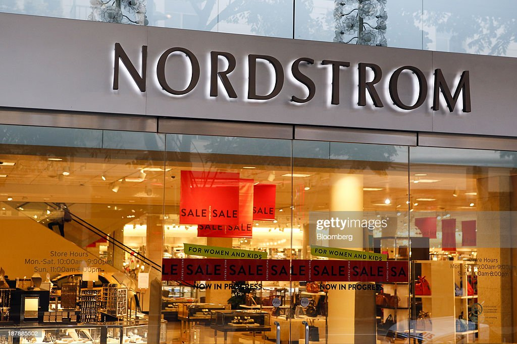 'Sale' signs are displayed inside a Nordstrom Inc. department store in Santa Monica, California, U.S., on Tuesday, Nov. 12, 2013. Nordstrom Inc. is scheduled to release earnings figures on Nov. 14. Photographer: Patrick T. Fallon/Bloomberg via Getty Images