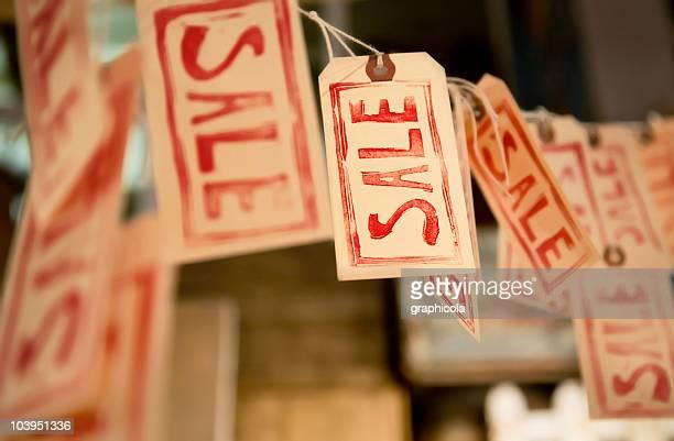 Verkauf-tags