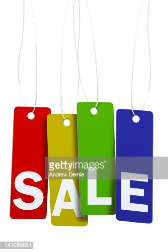 Sale Tags : Stock Photo