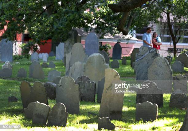 Salem's oldest cemetery the Charter Street Burial Ground is pictured on Jun 21 2017 The centuriesold Charter Street Burial Ground which includes the...