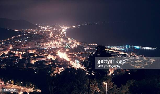 Salerno - Night High View