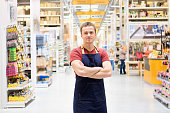 salesman at construction super store