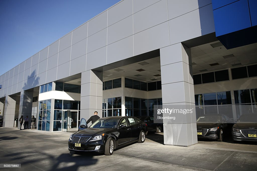 Inside Car Dealerships Ahead Of Motor Vehicle Sales