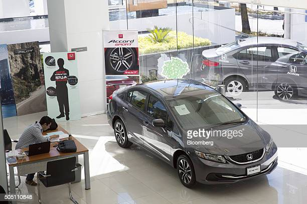 Automobile association stock photos and pictures getty for Honda motor company stock