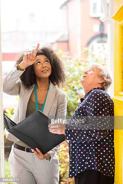 saleswoman oder tradeswoman hinweisen zu householder