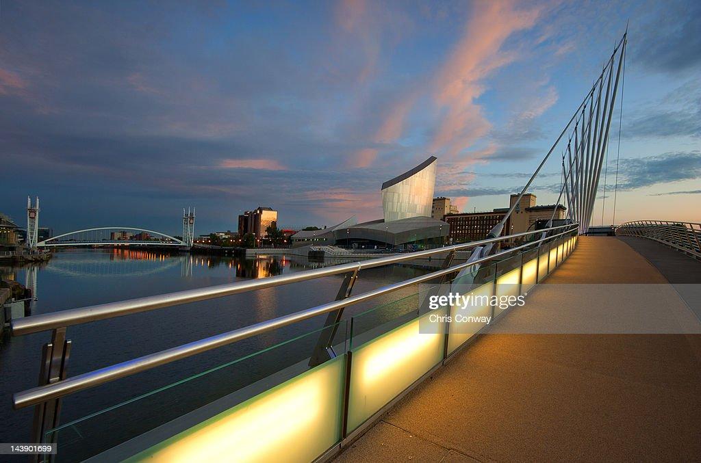 Salford Quays light