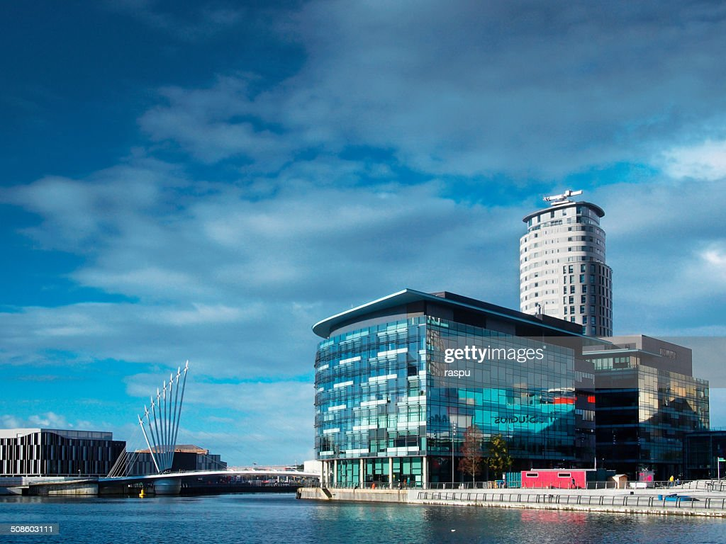 Salford Quays : Foto de stock