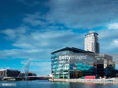Salford Quays : Foto de stock