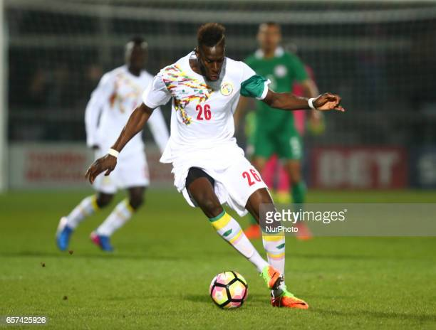 Salif Sane of Senegal during International Friendly match between Nigeria against Senegal at The Hive Barnet FC on 23rd March 2017