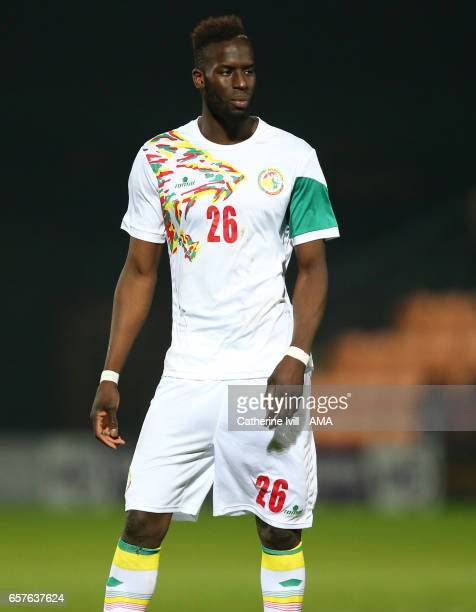 Salif Sane of Senegal during the International Friendly match between Nigeria and Senegal at The Hive on March 23 2017 in Barnet England