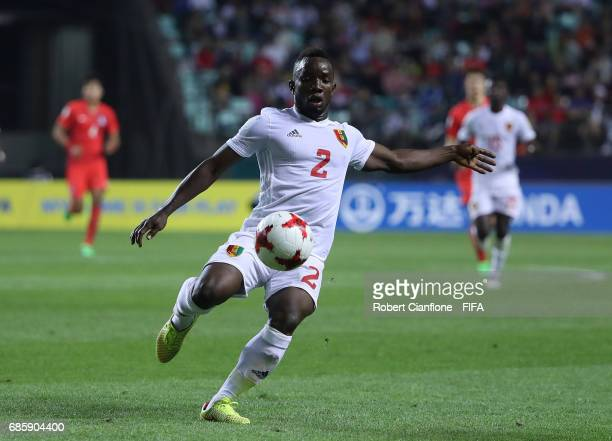 Salif Sylla of Guinea kicks the ball during the FIFA U20 World Cup Korea Republic 2017 group A match between Korea Republic and Guinea at Jeonju...