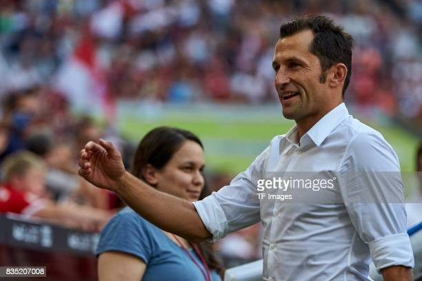 Salihamidzic of Bayern Muenchen looks on during the Audi Cup 2017 match between SSC Napoli and FC Bayern Muenchen at Allianz Arena on August 2 2017...