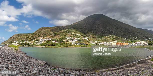 Salina lake, Sicily, Italy