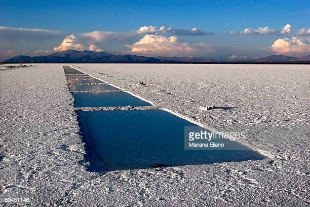 Salinas Grandes Jujuy Province Argentina One of the greatest depressions in the province with an exposed surface of over 12000 hectares of salt 126km...