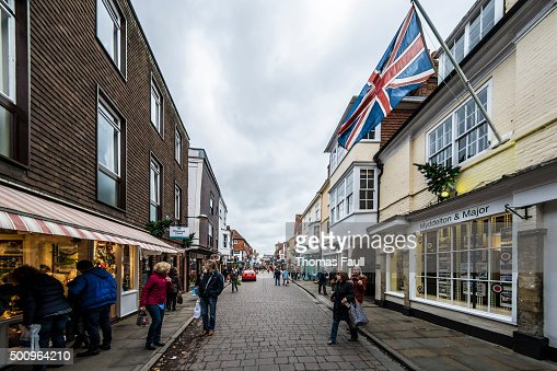 Salisbury Shopping Street