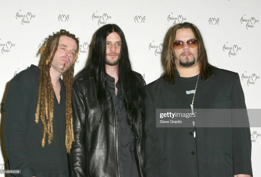 Saliva during The 30th Annual American Music Awards - Press Room at Shrine Auditorium in Los Angeles, California, United States.