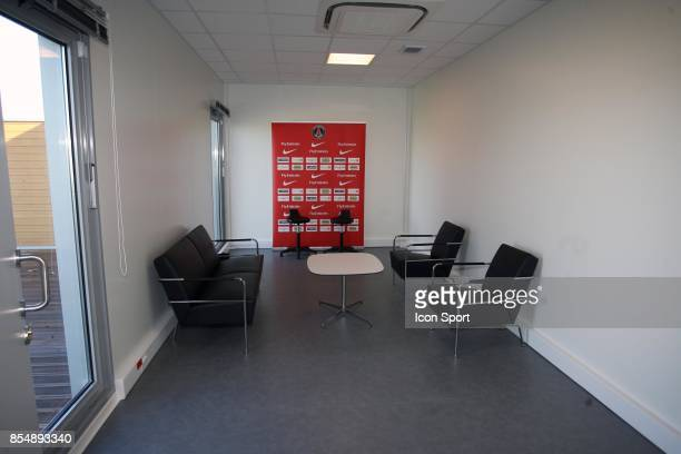 Salle Video Inauguration du Nouveau Centre d'entrainement du PSG Saint Germain en Laye Camp des Loges