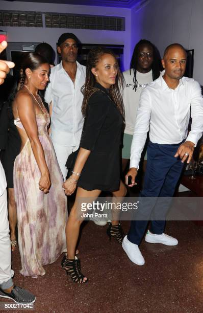 Salli Richardson Whitfield Boris Kodjoe Nicole Ari Parker and Dondre Whitfield attend the 20th Anniversary Celebration of HBO x ABFF at The Betsy...