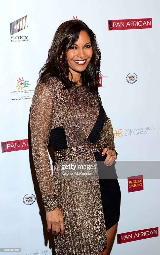 <a gi-track='captionPersonalityLinkClicked' href=/galleries/search?phrase=Salli+Richardson&family=editorial&specificpeople=2717812 ng-click='$event.stopPropagation()'>Salli Richardson</a>-Whitfield attends 21st Annual Pan African Film Festival Opening Night Gala premiere of Vipaka at DGA Theater on February 7, 2013 in Los Angeles, California.
