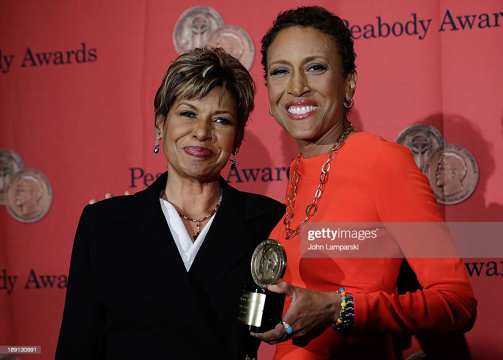 Sally Ann Roberts, and <a gi-track='captionPersonalityLinkClicked' href=/galleries/search?phrase=Robin+Roberts+-+Television+Anchor&family=editorial&specificpeople=4439371 ng-click='$event.stopPropagation()'>Robin Roberts</a> attend 72nd Annual George Foster Peabody Awards at The Waldorf=Astoria on May 20, 2013 in New York City.