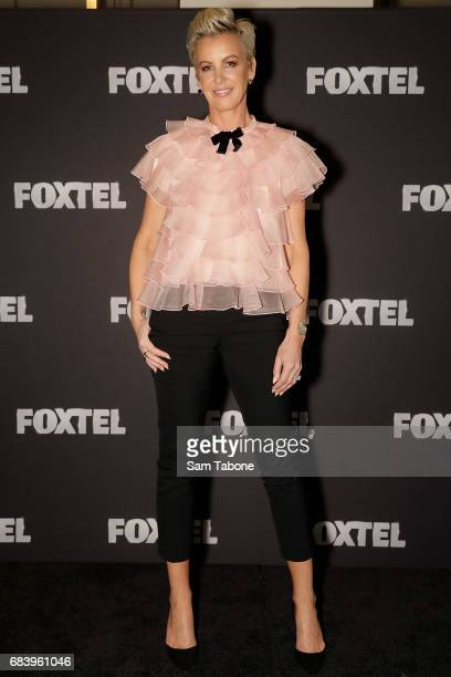 Sally Bloomfield during the Real Housewives Of Melbourne Season 4 Media Call at Grand Hyatt Melbourne on May 17 2017 in Melbourne Australia