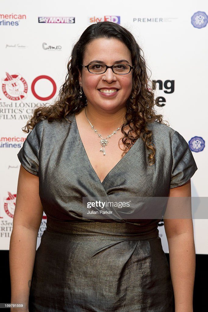 Sally El Hosaini, attends the London Critics' Circle Film Awards, at The Mayfair Hotel on January 20, 2013 in London, England.