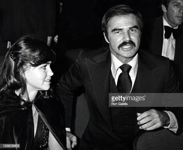 Sally Field and Burt Reynolds during 'Golda' Gala at Tower Suite in New York City New York United States