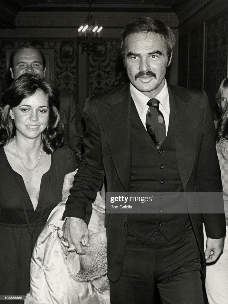 Sally Field and Burt Reynolds during Performance of 'Annie' at Alvin Theater in New York City New York United States