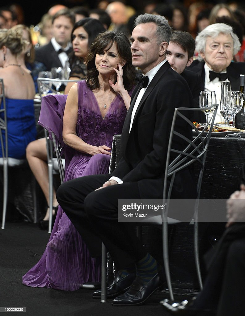 Sally Field and Daniel Day Lewis attend at the 19th Annual Screen Actors Guild Awards at The Shrine Auditorium on January 27, 2013 in Los Angeles, California. (Photo by Kevin Mazur/WireImage) 23116_016_1478.jpg