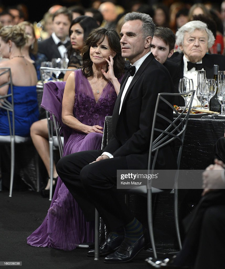Sally Field and Daniel Day Lewis attend at the 19th Annual Screen Actors Guild Awards at The Shrine Auditorium on January 27, 2013 in Los Angeles, California. (Photo by Kevin Mazur/WireImage) 23116_016_1480.jpg