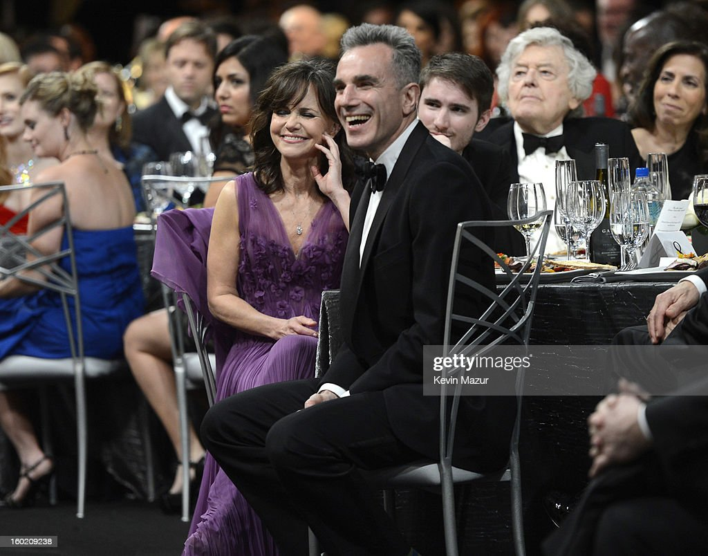Sally Field and Daniel Day Lewis attend at the 19th Annual Screen Actors Guild Awards at The Shrine Auditorium on January 27, 2013 in Los Angeles, California. (Photo by Kevin Mazur/WireImage) 23116_016_1481.jpg